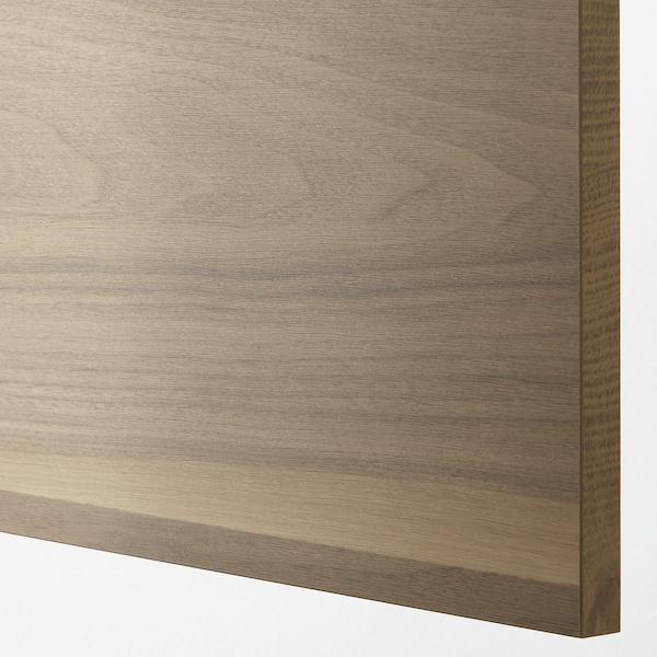 VOXTORP Bedekkingspaneel, walnootpatroon, 39x240 cm