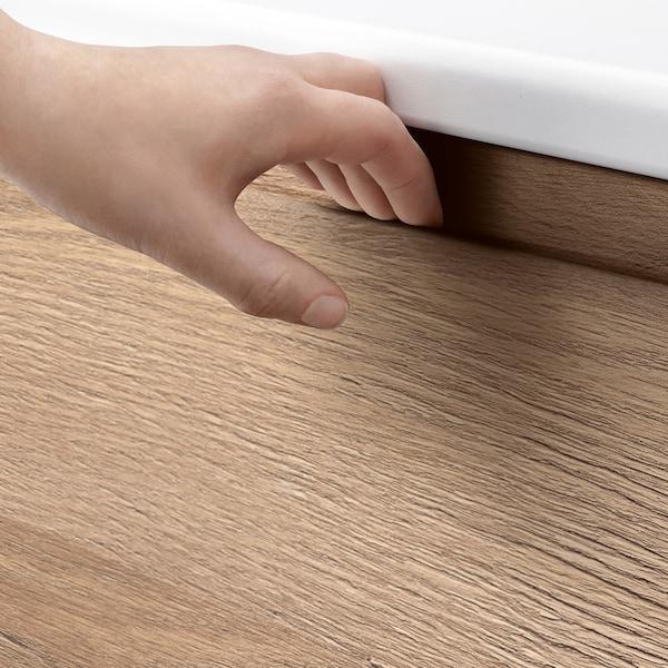 VOXTORP deur eikenpatroon 39.6 cm 119.7 cm 2.1 cm