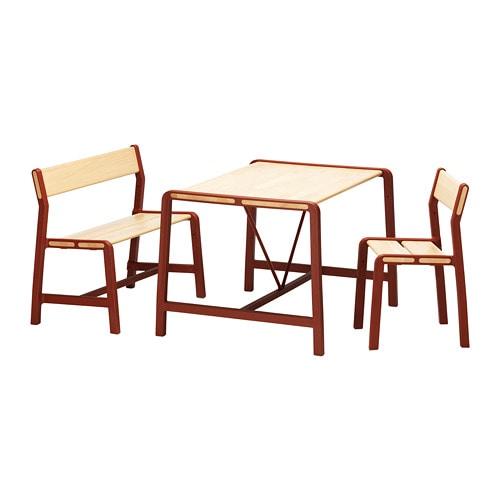 Kindertafel En Stoel Met Opbergruimte.Ypperlig Kindertafel Met Bank En Stoel Ikea