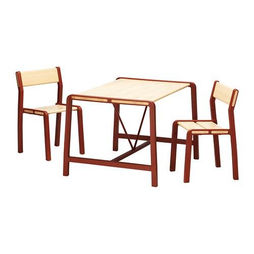 Kindertafel En Stoel Met Opbergruimte.Ypperlig Kindertafel Met 2 Stoelen Ikea