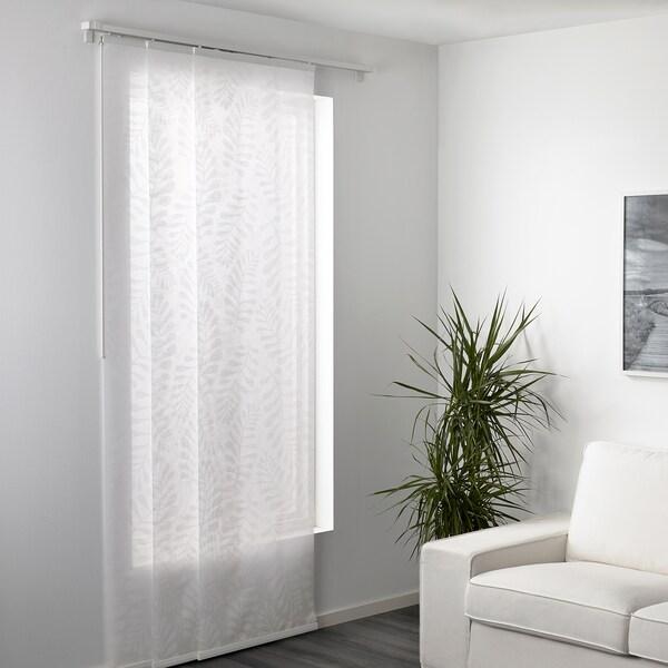 YRLA paneelgordijn wit/wit 300 cm 60 cm 0.10 kg 1.80 m² 1 st.