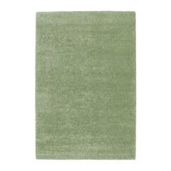 ÅDUM teppe, lang lugg, lys grønn