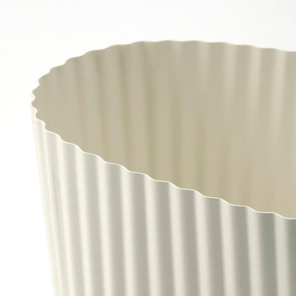 ÄPPELROS Blomsterpotte, inne/ute/offwhite oval, 9 cm