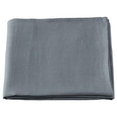 ÅKERKÖSA Duk, gråblå, 145x320 cm