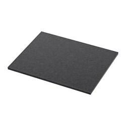 ALDERN benkeplate, svart steinmønstret