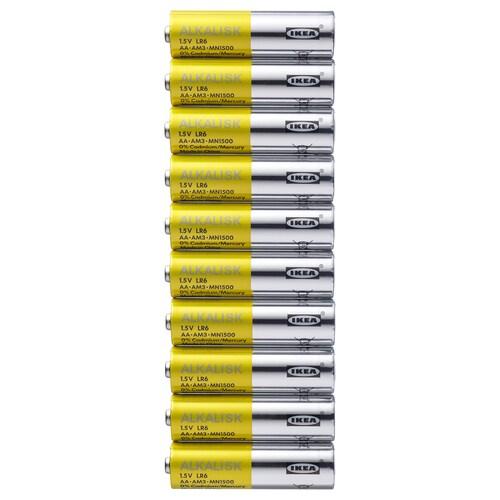 ALKALISK alkalisk batteri 10 stk.