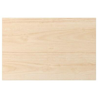 ASKERSUND Skuffefront, lyst askemønster, 60x40 cm