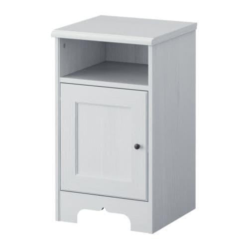 ASPELUND Nattbord IKEA Døren kan monteres med åpningen mot venstre eller høyre.