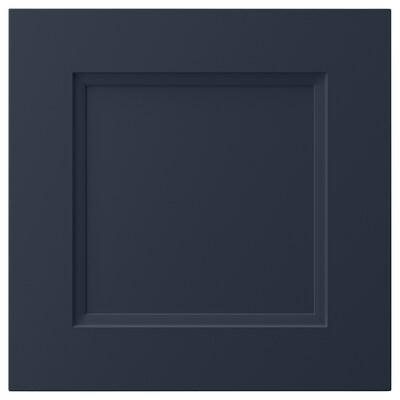 AXSTAD dør matt blå 39.7 cm 40.0 cm 40.0 cm 39.7 cm 2.0 cm