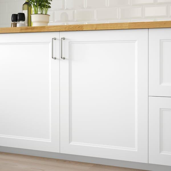 AXSTAD Dør, matt hvit, 60x80 cm