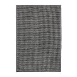 BADAREN Baderomsmatte, grå
