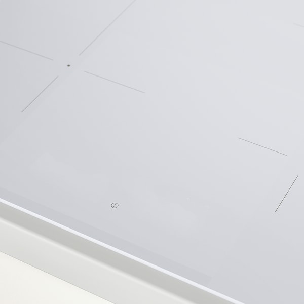 BEJUBLAD Induksjonstopp, IKEA 500 hvit, 58 cm