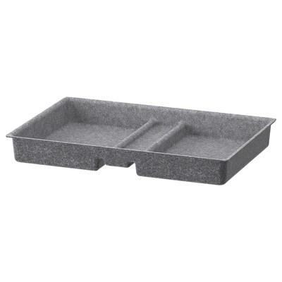 BESTÅ skuffeavdeler grå 51 cm 32 cm 6 cm