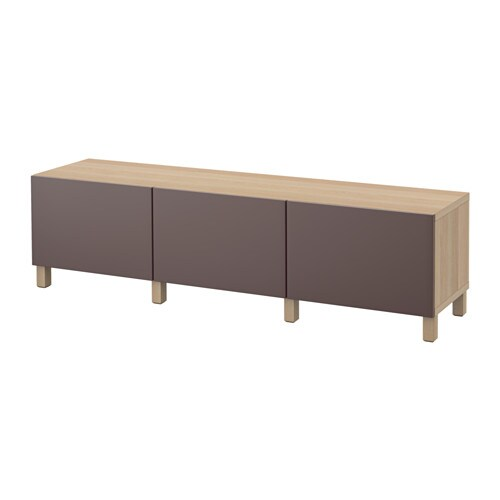 best kommode hvitbeiset eikem nster valviken m rk brun skuffeskinne trykk pen beslag ikea. Black Bedroom Furniture Sets. Home Design Ideas