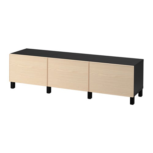 best kommode brunsvart inviken askefiner skuffeskinne lukkes mykt ikea. Black Bedroom Furniture Sets. Home Design Ideas