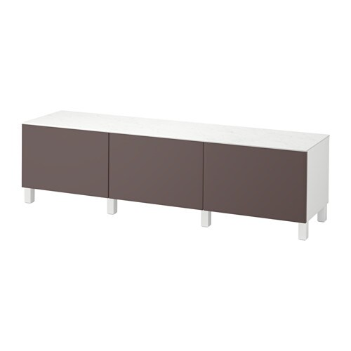 best kommode hvit valviken m rk brun skuffeskinne trykk pen beslag ikea. Black Bedroom Furniture Sets. Home Design Ideas