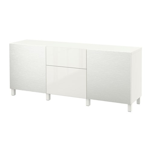 best kommode laxviken hvit selsviken h yglanset hvit skuffeskinne trykk pen beslag ikea. Black Bedroom Furniture Sets. Home Design Ideas