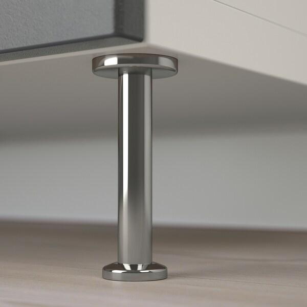 BESTÅ oppbevaringskomb m dør/skuffer hvit Kallviken/Stallarp/mørk grå betongmønstret 120 cm 40 cm 74 cm