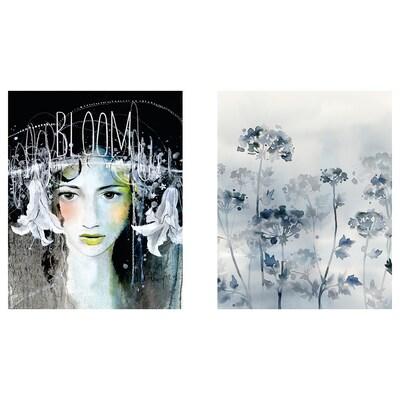 BILD Bilde, Midnight Bloom, 40x50 cm