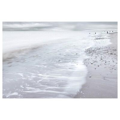 BILD Bilde, winter waves, 91x61 cm
