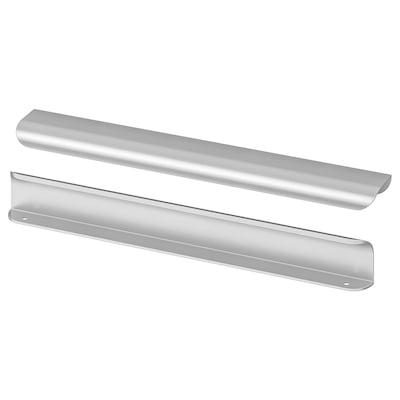 BILLSBRO Håndtak, rustfritt stålfarge, 320 mm