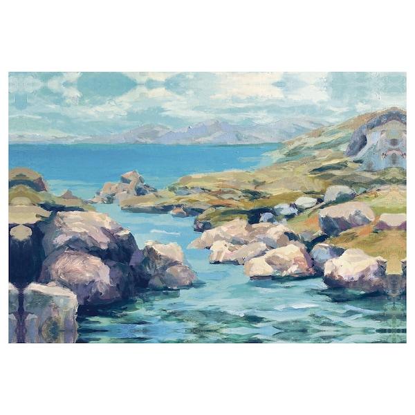 BJÖRKSTA Bilde, Coastal Inlet, 118x78 cm