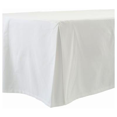 BLÅFLOX Sengekappe, hvit, 160x200 cm