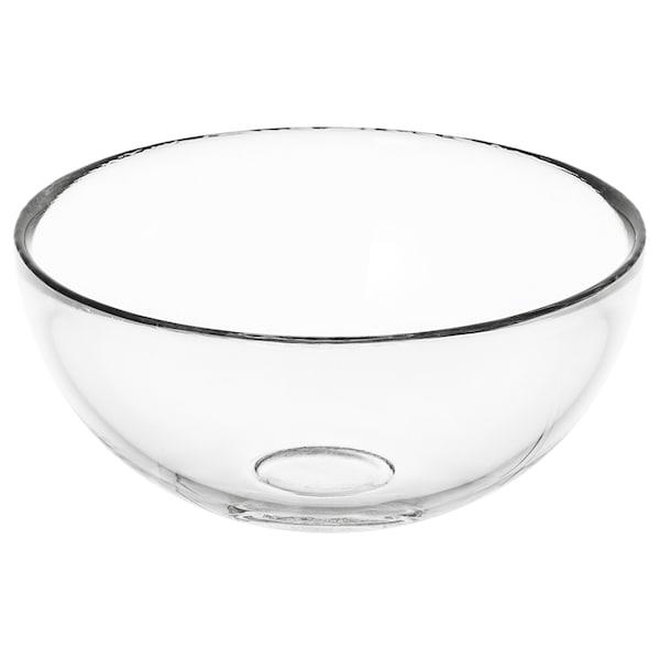 BLANDA Serveringsbolle, klart glass, 12 cm