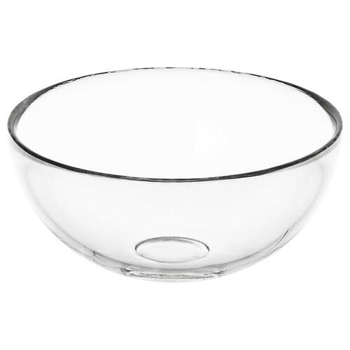 BLANDA serveringsbolle klart glass 6 cm 12 cm