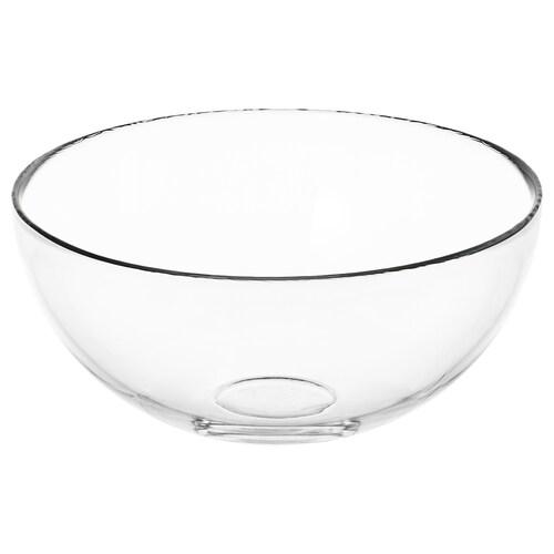 BLANDA serveringsbolle klart glass 9 cm 20 cm