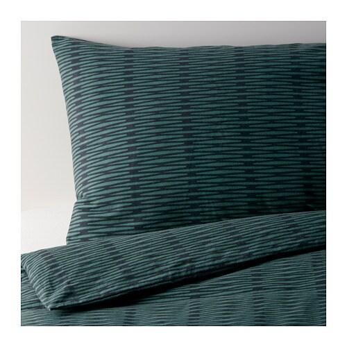 bl suga dobbelt sengesett 240x220 50x60 cm ikea. Black Bedroom Furniture Sets. Home Design Ideas