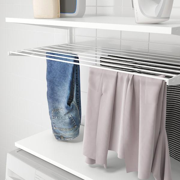 BOAXEL Kombinasjon til vaskerom, hvit, 82x40x201 cm