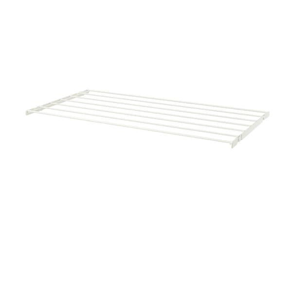 BOAXEL Tørkestativ, hvit, 80x40 cm