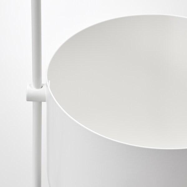 CHILISTRÅN Ampel, inne/ute hvit, 12 cm