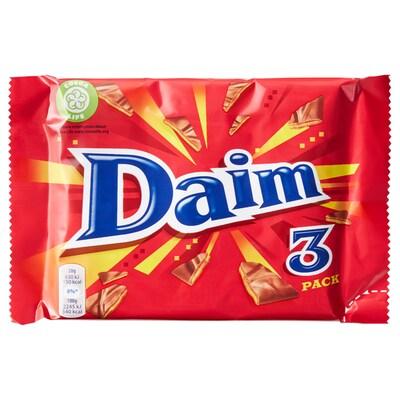 DAIM melkesjokolade karam/myntesm 84 g