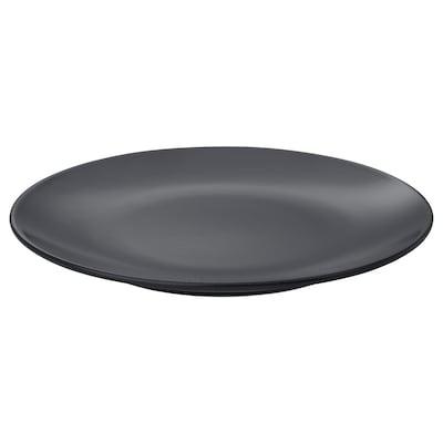 DINERA Asjett, mørk grå, 20 cm