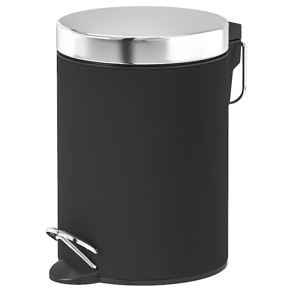 EKOLN avfallsbøtte mørk grå 24 cm 17 cm 3 l