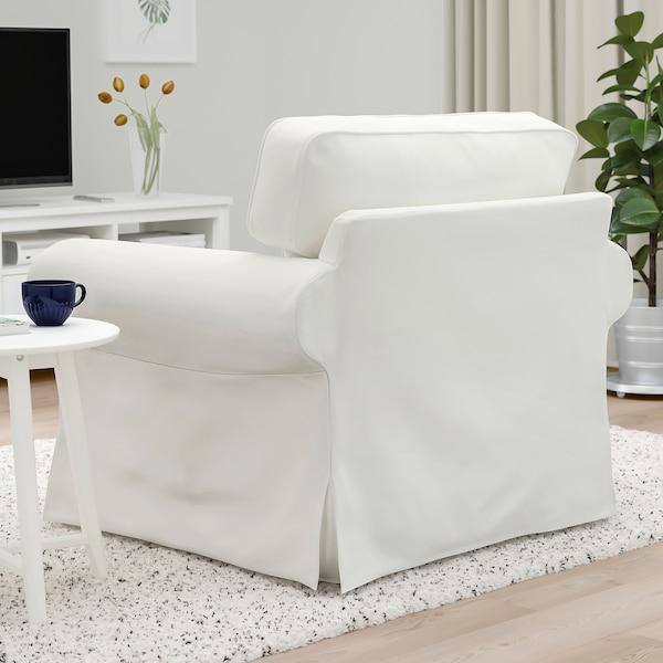 EKTORP Lenestol, Blekinge hvit