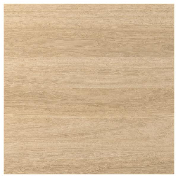 ENHET Dør, eikemønstret, 60x60 cm