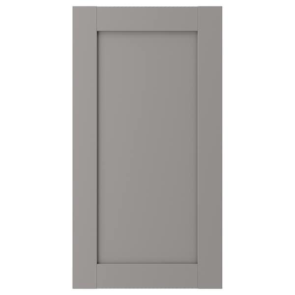 ENHET Dør, grå ramme, 40x75 cm