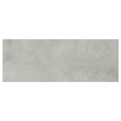 ENHET Skuffefront, betongmønstret, 40x15 cm