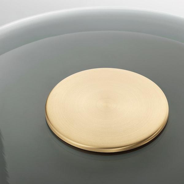 EVEDAL Gulvlampe, marmor/grå