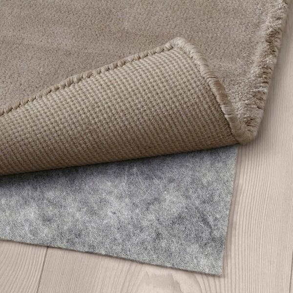 FALKERSLEV Teppe, kort lugg, beige, 170x240 cm