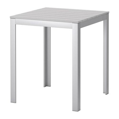 FALSTER Bord, utendørs , grå Lengde: 63 cm Høyde: 75 cm / 75 cm