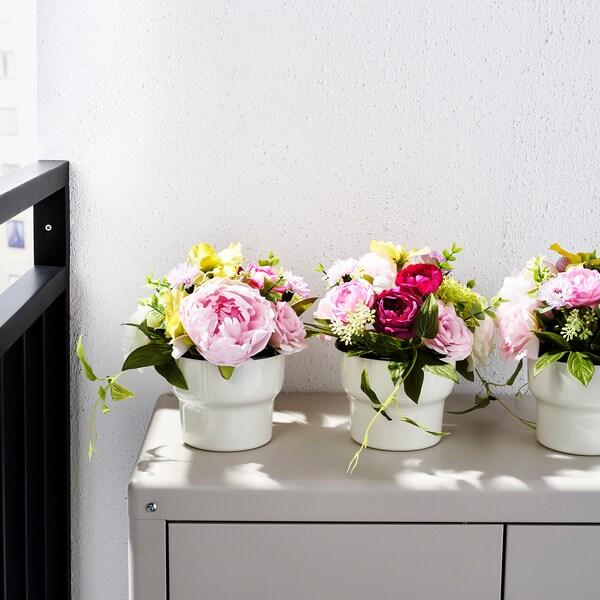 FEJKA kunstig potteplante inne/ute oppsats 12 cm 24 cm