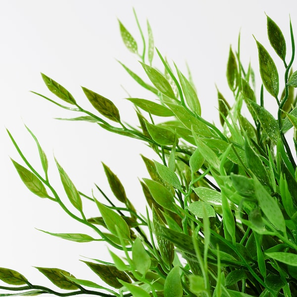 FEJKA Kunstig potteplante, inne/ute Bambusgress, 9 cm