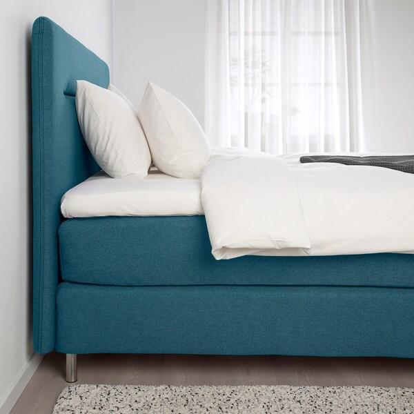 FINNSNES kontinentalseng  Hövåg fast/medium/Tussöy blå 210 cm 180 cm 120 cm 200 cm 180 cm