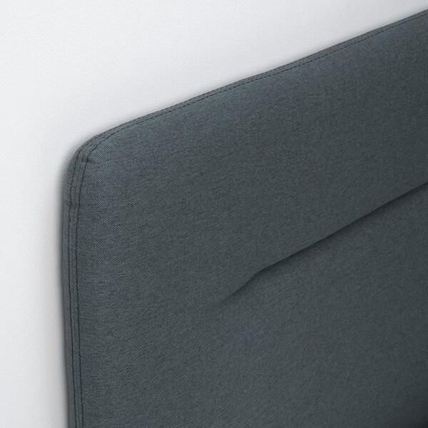 FINNSNES kontinentalseng  Hövåg fast/medium/Tuddal grå 210 cm 180 cm 120 cm 200 cm 180 cm