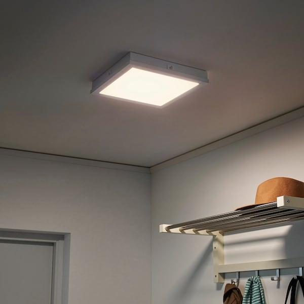 FLOALT LED-lyspanel, dimbar/varmhvit til kaldhvit, 30x30 cm