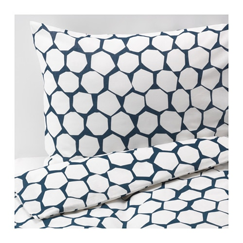 fl ng dobbelt sengesett 240x220 50x60 cm ikea. Black Bedroom Furniture Sets. Home Design Ideas